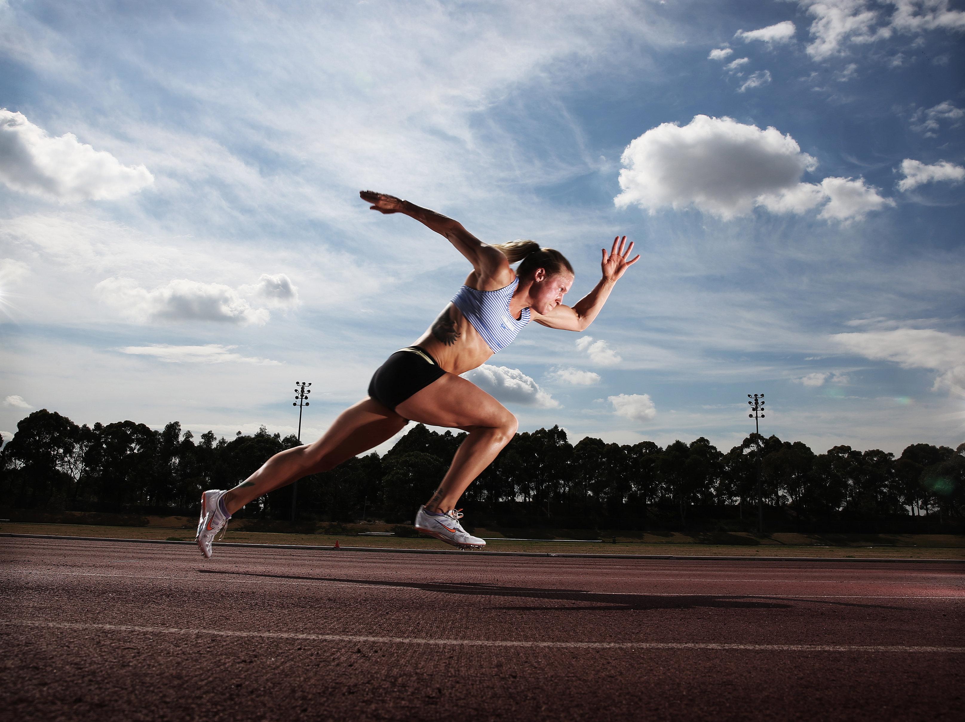 Charlotte Van Veneendaal Australian Sprinter