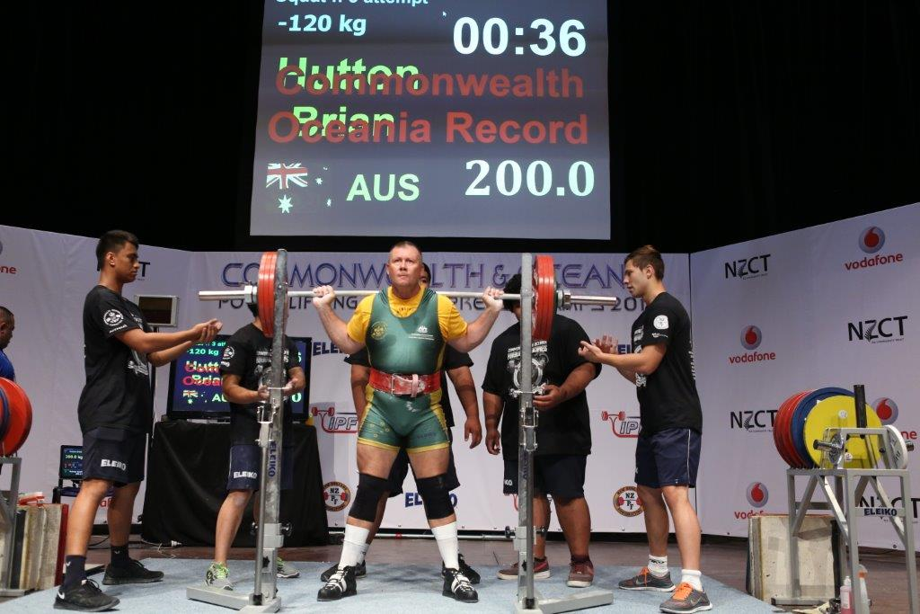 BJ Hutton- Lifting an Oceanic and Commonwealth Record in Auckland December 2013