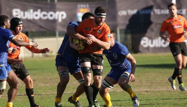 Sam Ward- Physio and highly regarded rugby player. Here trucking it up for the Country Eagles in the NRC